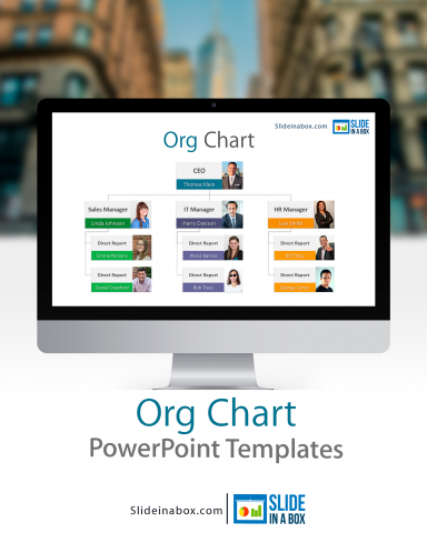 powerpoint templates organizational chart