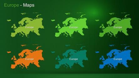 Europe Maps Slide